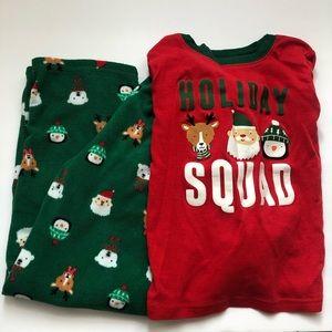 {$firm} Boys Carter's Christmas Pajamas